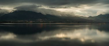 Free Etang De Biguglia Panorama Stock Images - 129332834