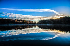 Etang en correze Stock Photography