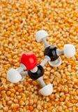Etanol del maíz Imágenes de archivo libres de regalías