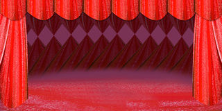 etap czerwonej Obrazy Stock