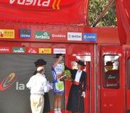 Etapa 6 del podium del viaje de España 2011 Fotografía de archivo