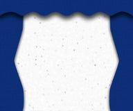Etapa azul Foto de archivo libre de regalías