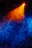 Etapa con el fondo del humo Fotografía de archivo libre de regalías