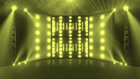 Etapa 3d del concierto de la muchedumbre amarilla clara libre illustration