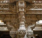Etapa de Adalaj bem em Ahmadabad, Índia imagens de stock royalty free