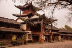 Etapa de la ópera del chino tradicional Fotos de archivo