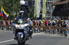"Etapa 17 de la ruta del Tour de Francia 2016: € ""Finhaut Emosson (swi) del swi de Berna Fotografía de archivo libre de regalías"