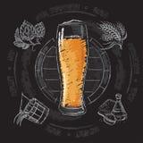 Etapa de producción de la cerveza Fotos de archivo libres de regalías