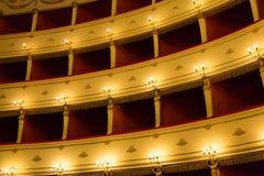 Etapa de un teatro Fotografía de archivo