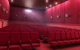 Etapa del cine Fotografía de archivo libre de regalías