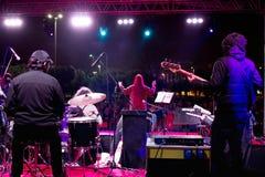 Etapa del concierto Foto de archivo libre de regalías