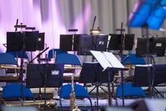 Etapa del concierto Fotos de archivo