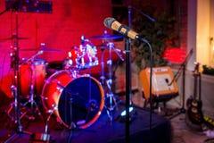 Etapa del concierto de rock Foto de archivo
