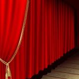 Etapa del teatro Fotos de archivo libres de regalías