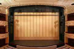 Etapa del teatro Foto de archivo