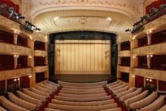 Etapa del teatro Fotografía de archivo libre de regalías