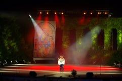 Etapa del teatro del verano de Varna Foto de archivo