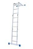 Etapa-escada do metal isolada Imagens de Stock