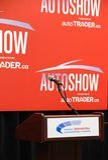 Etapa internacional canadiense de AutoShow Fotografía de archivo libre de regalías