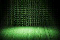 Etapa verde de la vendimia con el proyector Fotografía de archivo
