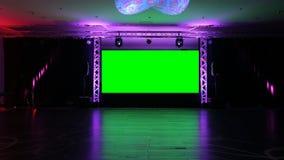 Etapa y luces almacen de video