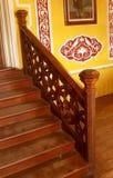 Etapas da entrada do estilo do vintage do palácio de bangalore imagem de stock
