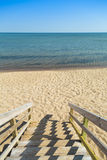 Etapas da praia Imagens de Stock