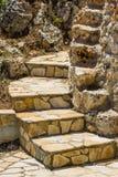 Etapas de pedra típicas Foto de Stock