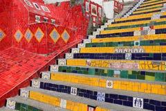 Etapas de Selaron, Rio Fotografia de Stock Royalty Free