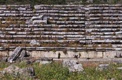 Etapas do estádio de Perga Imagem de Stock