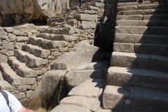 Etapas e água do Inca Foto de Stock