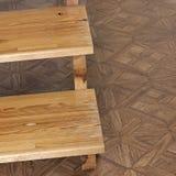 etapas Escadaria de madeira Etapas de madeira fotografia de stock royalty free