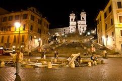 Etapas espanholas, Roma Fotografia de Stock