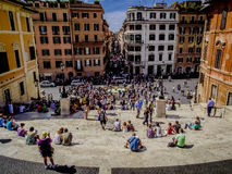 Etapas espanholas, Roma Fotos de Stock