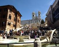 Etapas espanholas, Roma Imagens de Stock Royalty Free