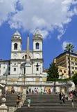 Etapas espanholas, Roma, Itália Fotos de Stock