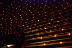 Etapas iluminadas Imagem de Stock