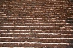 Etapas maias da ruína Fotografia de Stock Royalty Free
