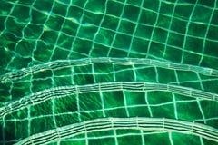Etapas na associação do mosaico no verde Fotografia de Stock