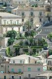 Etapas na cidade histórica Foto de Stock Royalty Free