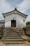 Etapas no castelo de Himeji Fotografia de Stock Royalty Free