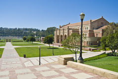 Etapas no terreno do UCLA Imagem de Stock Royalty Free