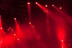 etapp för 10 lampor Arkivfoton