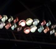 Etappfläckljus Arkivbilder