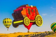 Etapplagledare Hot Air Balloon Royaltyfria Foton