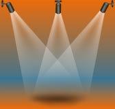 Etapplampor stock illustrationer