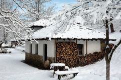 Etara ,Gabrovo ,Bulgaria. In the winter Royalty Free Stock Photography