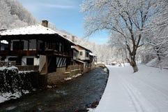 Etara ,Gabrovo ,Bulgaria. In the winter Royalty Free Stock Image