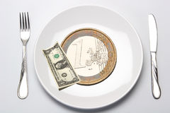 Etat, Finanzierung Stockbild