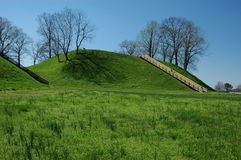 Etawah Mounds Royalty Free Stock Photo